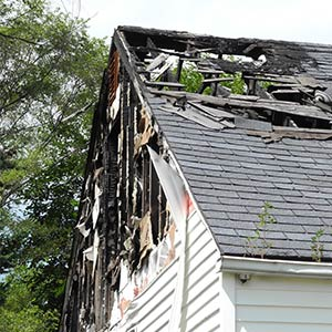 house with fire damage in need for repair el paso